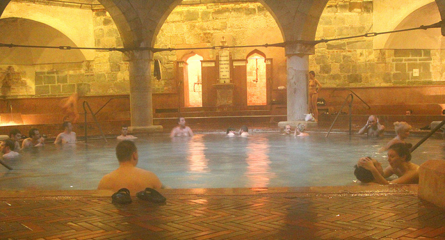 bagno turco Budapest