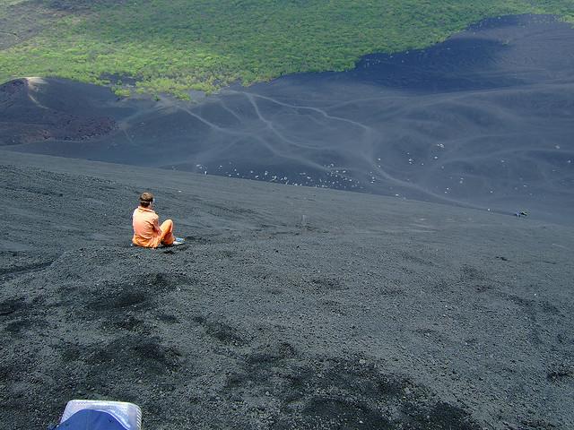 surf sul vulcano