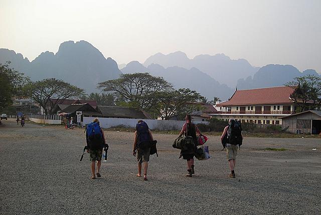 Sud Est Asiatico zaino in spalla
