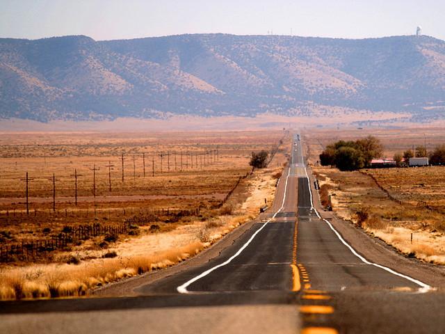 Route 66 zaino in spalla