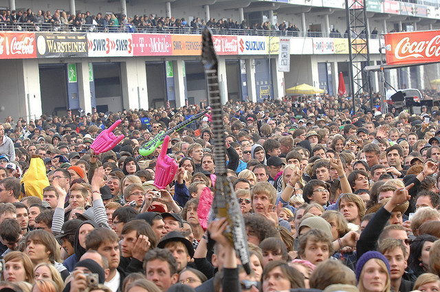 Rock am Ring festival europei