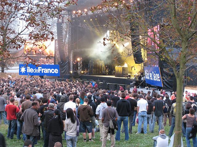 Rock en Seine festival europei