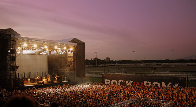 Rock in Roma festival europei