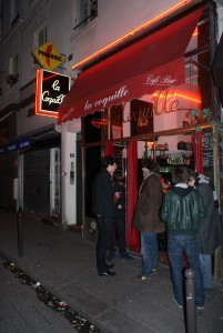 Guida bar Parigi La Coquille