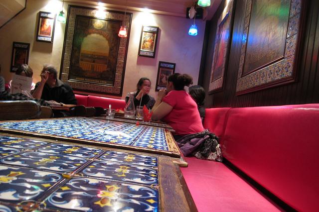 Guida bar di Parigi Les pietons