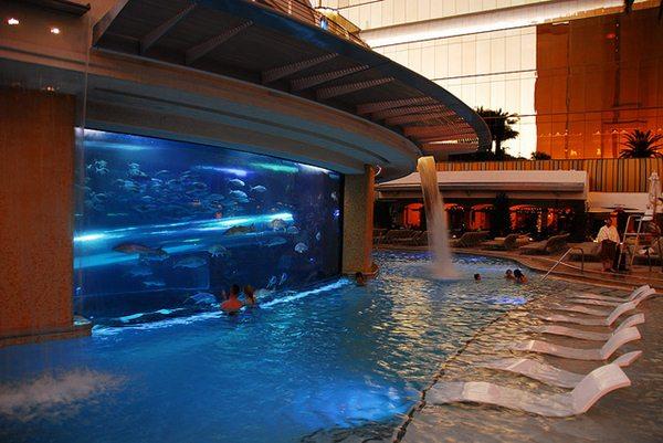 Golden Nugget Las Vegas piscina