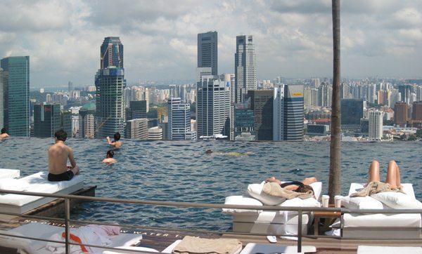 Marina Sands Singapore piscina
