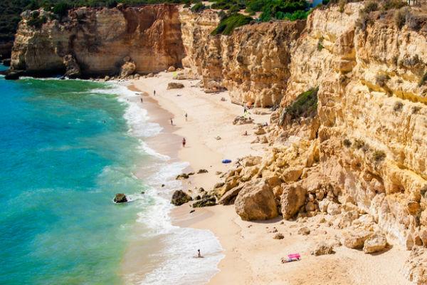 praia da rocha portogallo