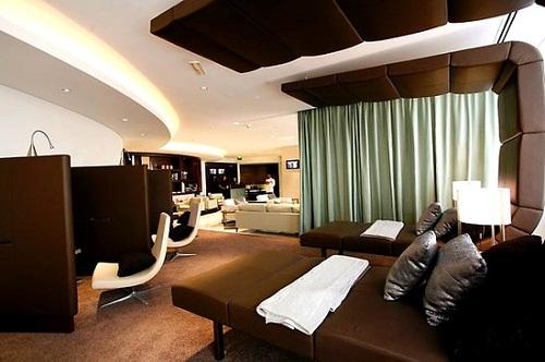 Etihad Diamond First Class Lounge, Abu Dhabi