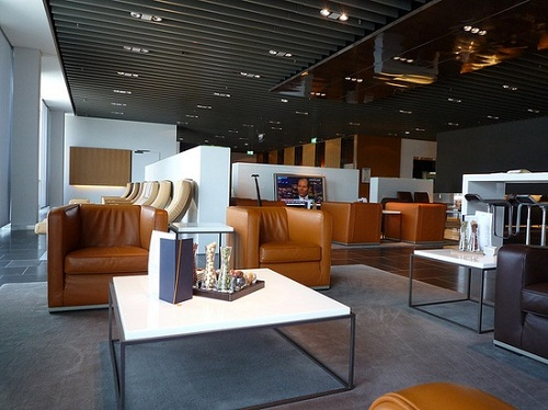 Lufthansa First Class Terminal frankfurt