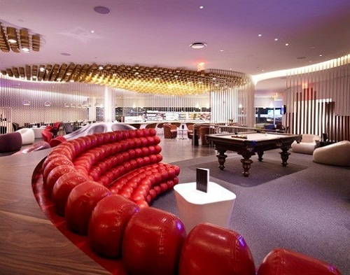 Virgin Atlantic Lounge JFK New york