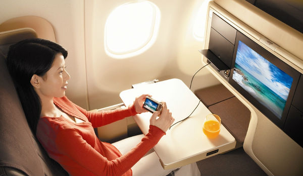 singapore airlines intrattenimento