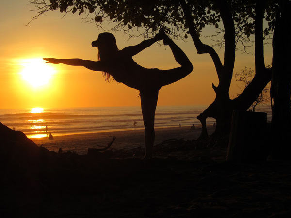 yoga tramonto bali