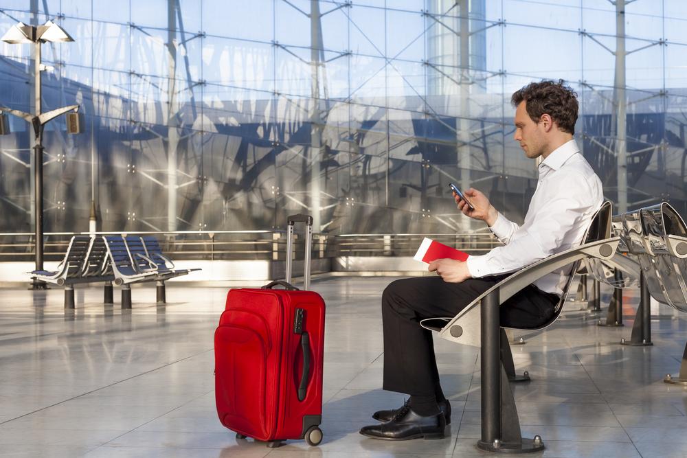 smartphone aeroporto USA