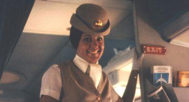 Le uniformi delle assistenti di volo – gli anni '70