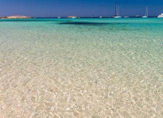 formentera spiaggia ses illetes