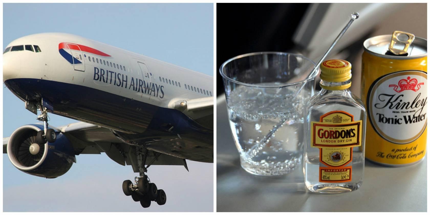 british airways drink